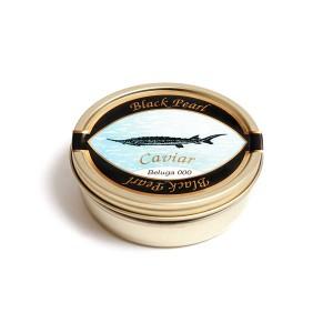 Lata de caviar Black Pearl Beluga 000