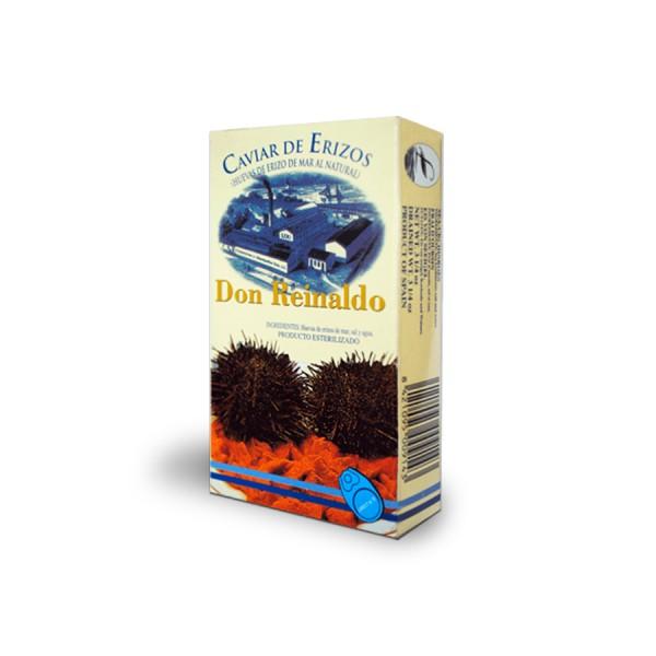 Lata de caviar erizo de mar al natural Don Reinaldo