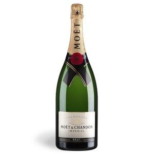 Botella de champagne Moët Chandon