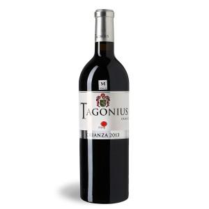 Botella de vino crianza 2013 Tagonius