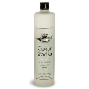 Botella de vodka Caviar Wodka LWC Michelsen